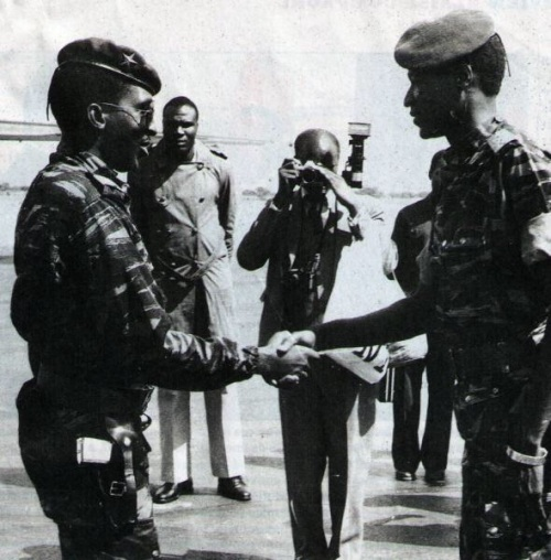 Thomas Sankara and Blaise Compaore