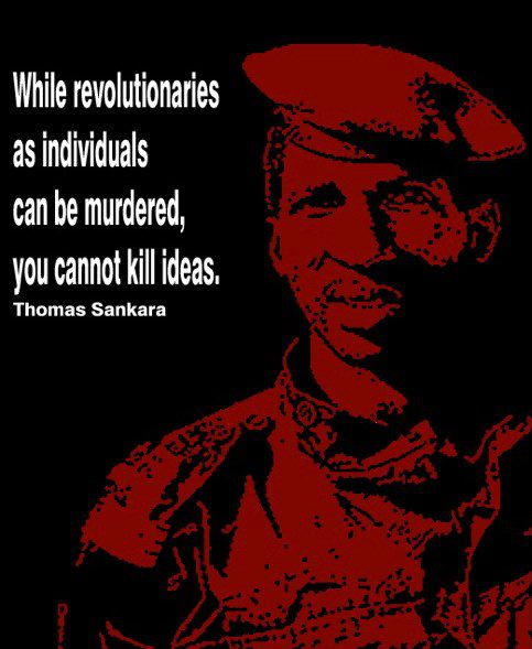 Caption of Thomas Sankara